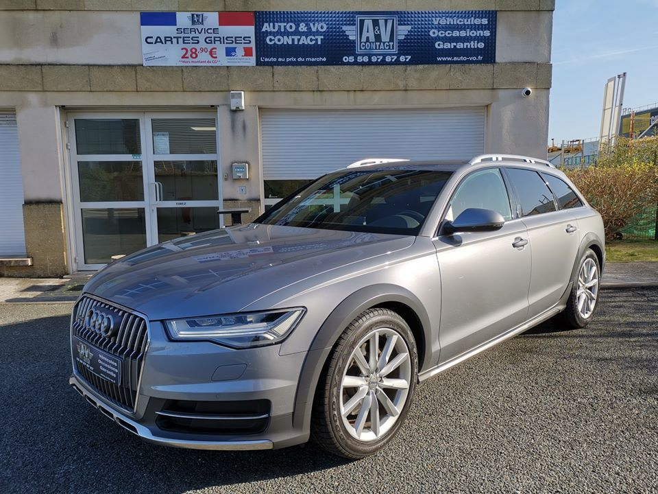 AUDI A6 ALLROAD 3.0 V6 TDI 218 S TRONIC AMBITION LUXE QUATTRO du 05.10.2017 – 50 700kms – 38 490 €