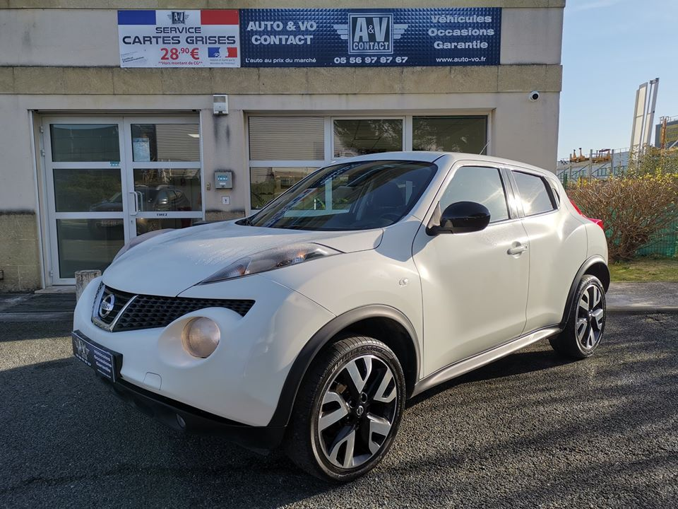 NISSAN JUKE 1.5 DCI 110 S&S SYSTEME CONNECT EDITION Du 21.11.2013 – 94 600 kms – 9 490 €