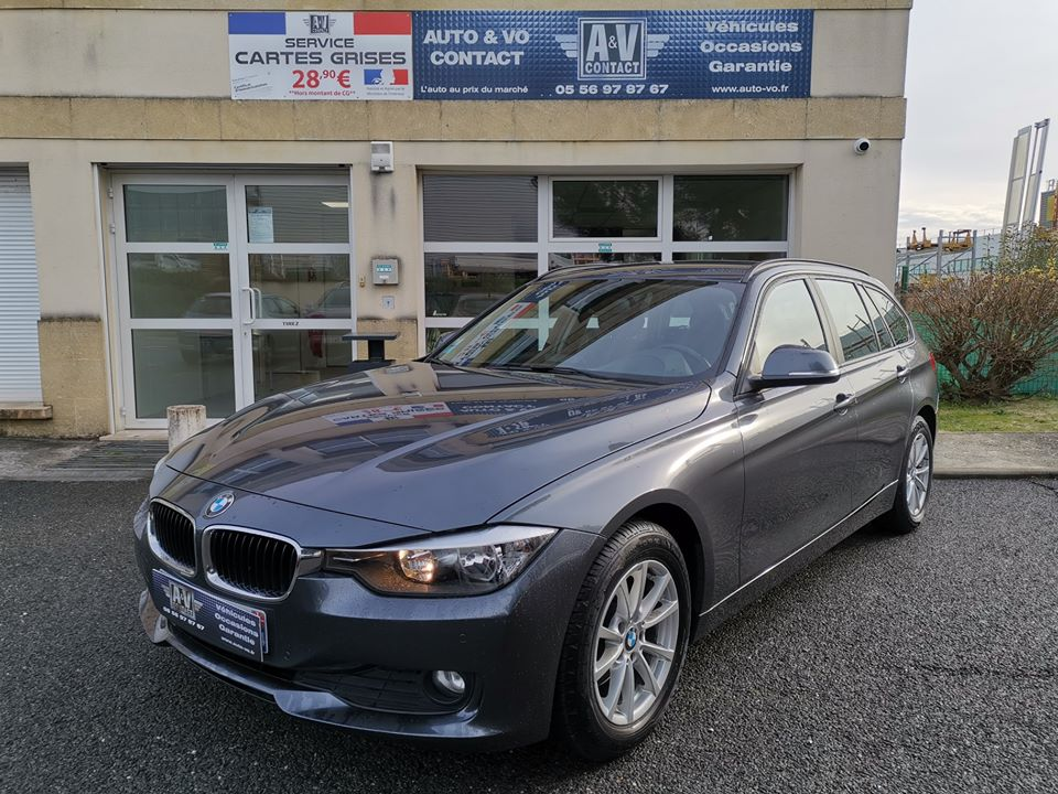 BMW SERIE 3 TOURING 320D 184 PACK BUSINESS DU 12.03.2014 – 119 400 KMS – 14 990 €