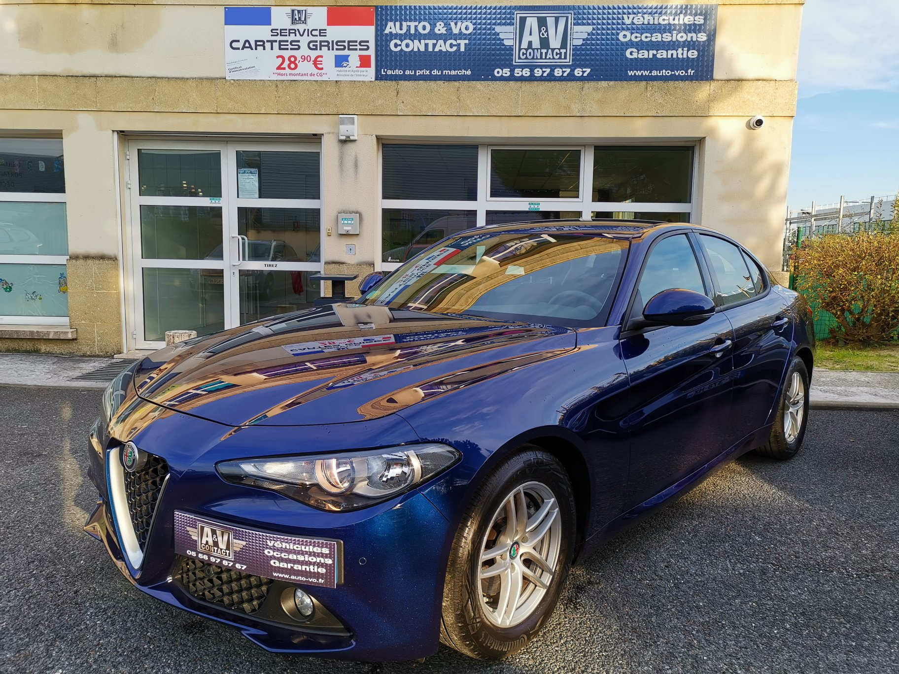 ALFA ROMEO GIULIA 2.2L JTD 16V 150 CH Du 02.09.2016 – 58 540 KMS – 19 490€