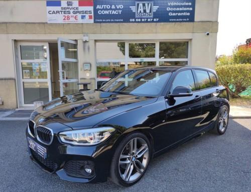 BMW SÉRIE 1 (F20) 118i 136CH M SPORT BVA8 5P Du 30.11.2017 – 29 960 KMS – 21 990 €