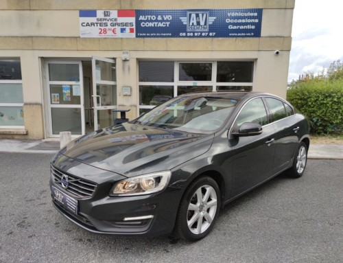 VOLVO S60 D3 150 MOMENTUM BUSINESS GEARTRONIC Du 30.09.2016 – 119 600 KMS – 13 790 €