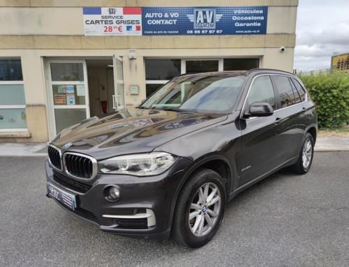 BMW X5 (F15) XDRIVE 25d 218CH XLINE Du 27.08.2014 – 108 200 KMS – VENDU