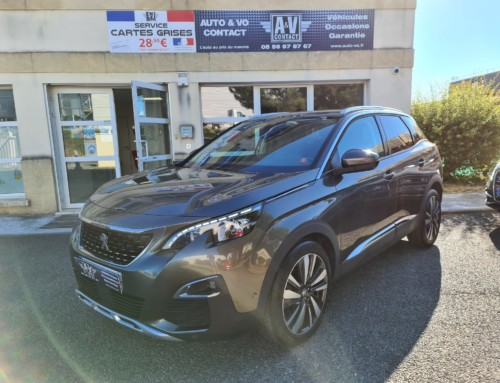 PEUGEOT 3008 1.6 HDI 120 ALLURE BUSINESS Du 11.04.2017 – 126 800 KMS – 16 990 €