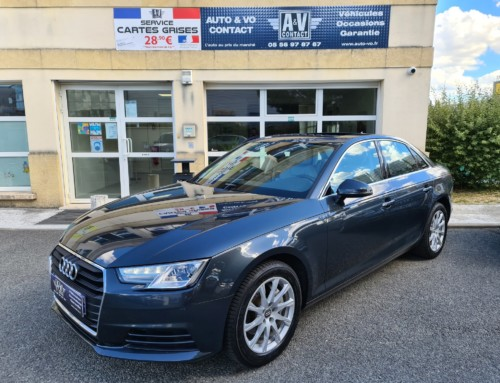 AUDI A4 (B9) 2.0 TDI 190 BUSINESS LINE TIPTRONIC 8 Du 17.08.2016 – 104 100 KMS – VENDU