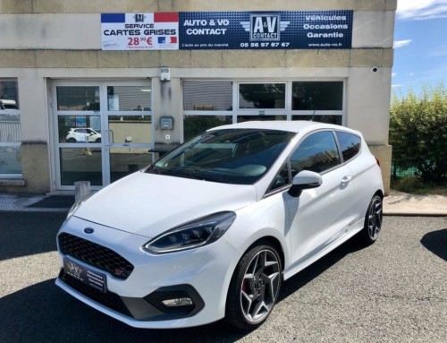 FORD FIESTA ST 1.5 ECOBOOST 200 CH S&S ST PLUS Du 19.04.2019 – 32 750kms – 21 290€