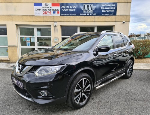 NISSAN X-TRAIL 2.0 DCI 177 N-CONNECTA BA X-TRONIC 7 PLACES Du 09.11.2017 – 17 700 KMS – 23 490 €