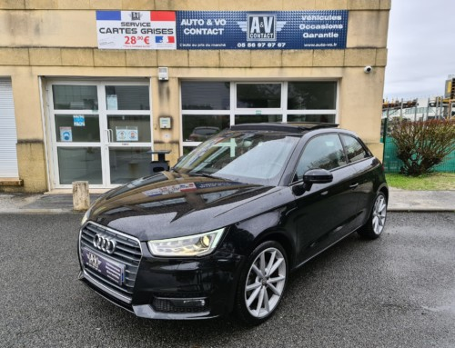 AUDI A1 3P 1.4 TFSI 150 COD AMBITION LUXE S TRONIC Du 29.12.2015 – 58 600 KMS – 17 490 €