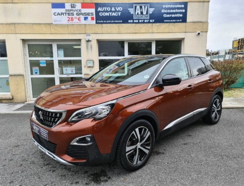 PEUGEOT 3008 1.6 HDI 120 ALLURE EAT6 Du 29.09.2016 – 103 750 KMS – 18 200 €
