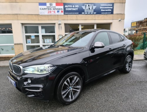 BMW X6 M50D 381CH (F16) XDRIVE Du 23.07.2015 – 89 900 KMS – 45 990 €