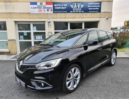 RENAULT GRAND SCENIC IV 1.5 DCI 110 BUSINESS EDC 7 PLACES Du 14.02.2017 – 76 400 KMS – 15 990 €